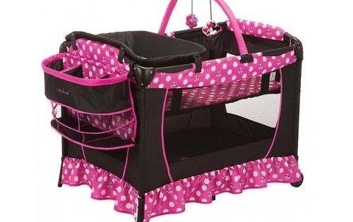 Minnie Mouse Playard Pack N Play Baby Yard Disney Pink