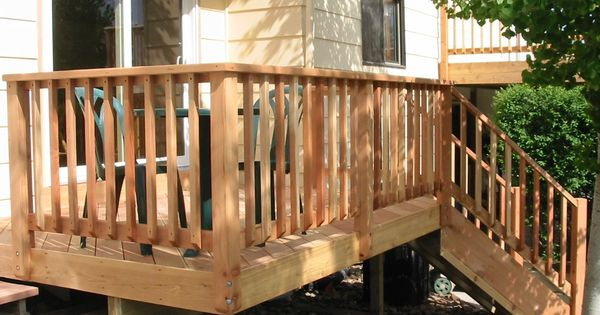 Best Railing Posts Attached On Top Of Fascia Notched And 400 x 300