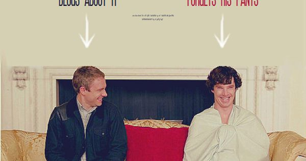 And Mycroft expects them to grow up?!