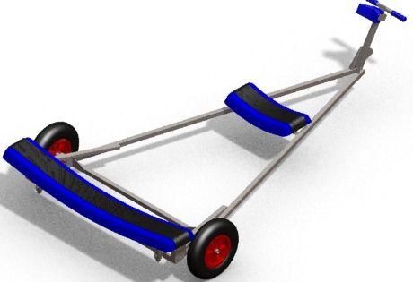 pvc boat dolly - Google Search | Carts | Pinterest
