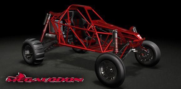 Megalodon Race Buggy Plans Dune Buggy Sand Rail Go Kart