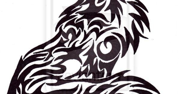 Tribal Fox Tattoo by whutbox.deviantart.com on @deviantART   Draw ...