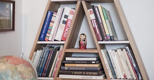 Child's room letter bookshelf