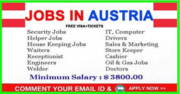 Jobs At Austria Apply Now Helper Jobs Job Computer Jobs