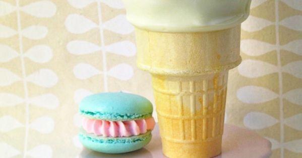 Icecream cone cake via Daisy Pink Cupcake: Cakes and Cupcakes~