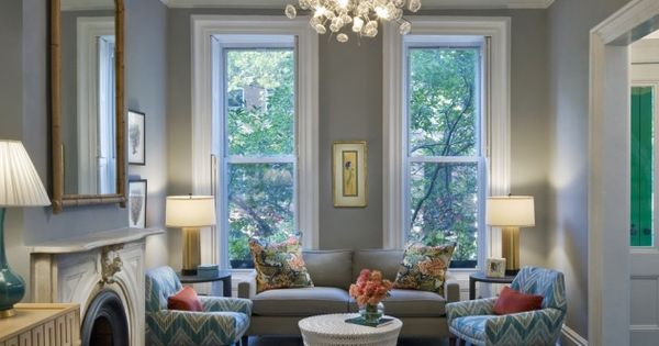 Coventry Gray Wall Color by BM: South Shore Decorating Blog: The Top