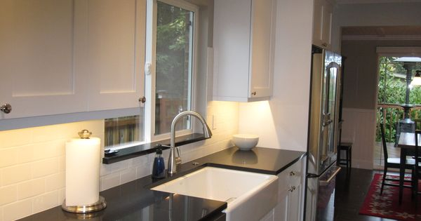 Kitchen Counter Close Up With Window : Close up of the sink wall. We ...