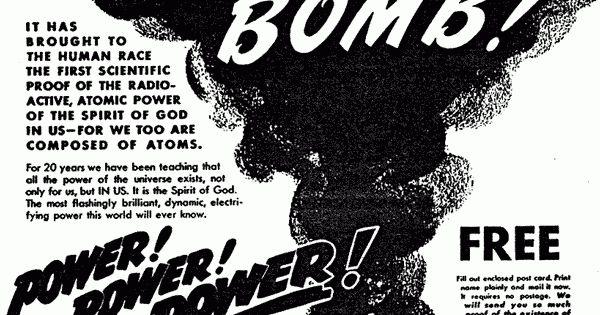 thank god for the atom bomb essay