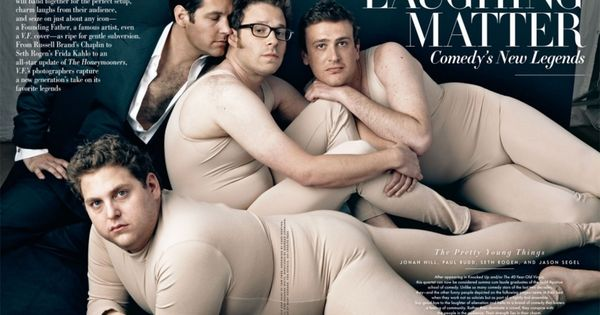 Jonah Hill, Paul Rudd, Seth Rogen & Jason Segel | by Annie