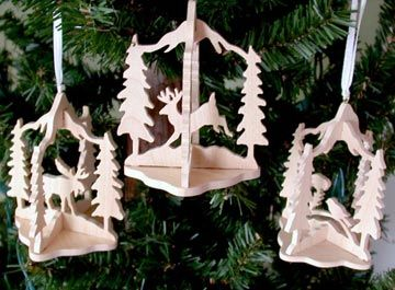 Sld123 12 Slotted Wildlife Ornaments Scroll Saw Patterns Free Scroll Saw Patterns Scroll Saw