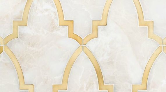 10 Looks To Love Gold Grout Amp Insets Tile Grout