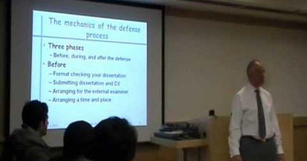 defend dissertation proposal