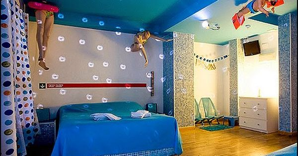 Swimming Pool Themed Bedroom Swimming Pool Theme Bedroom