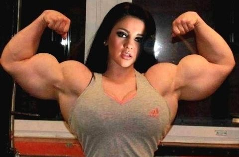 Top 10 Female Bodybuilders With Biggest Biceps | Muscled
