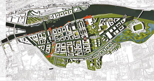 Cork docklands public realm competition ireland for Landscape architect ireland