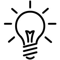 Christmas Light Bulb Outline Clipart Panda Free Clipart Images Light Bulb Icon Light Icon Free Clip Art