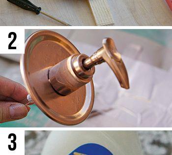 Diy Your Own Mason Jar Dispenser To Keep Hand Sanitizer At The