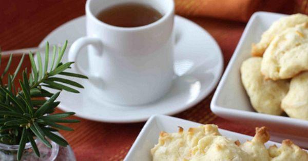 Tea cookies, Coconut and Orange on Pinterest