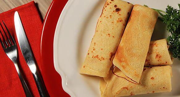 Receita Panqueca Simples L Azeites Receitas Comida Etnica Receita Panqueca Simples