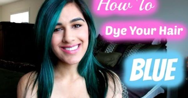 How To Dye Your Hair Blue Without Bleach Manic Panic Blue