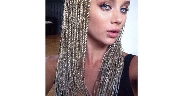 Blonde White Girls Box Braids Google Search Hair Ideas
