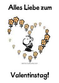 Morgen ist valentinstag spruche