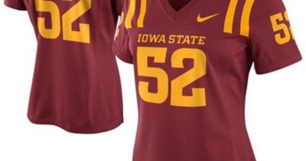 Nike Iowa State Cyclones Ladies 52 Game Football Jersey