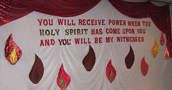 pentecost ideas for sunday school