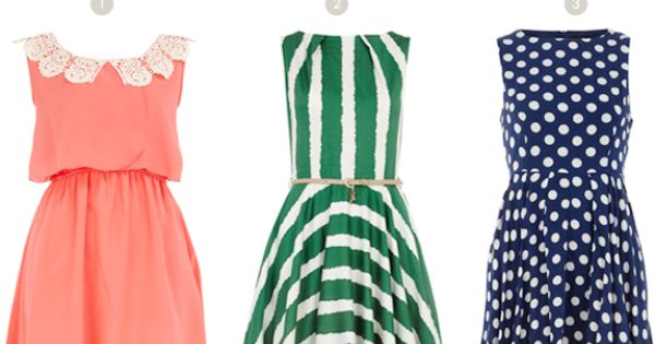 I think I want all of these summer dresses!