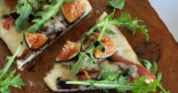 ... with fresh figs | FOOD | Pinterest | Fresh Figs, Flat Bread and Figs