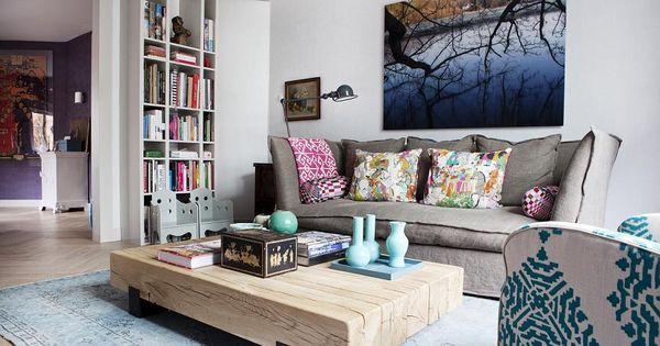 Salontafel beam van rossum meubelen te zien n te koop for Eurlings interieur