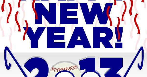 Happy New Year! Baseball is coming...