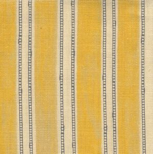 The Edwardian In Ochre Striped Upholstery Fabric Edwardian Mural Stencil