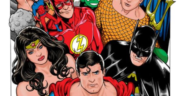 justice league of america by kevin maguire art that i