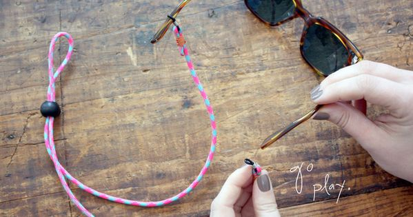 Sunglasses strap diy going to improvise a little and make for Diy hammock straps paracord