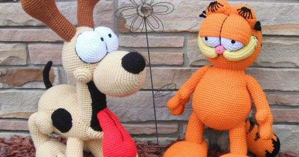 Garfield and Odie 2 Crochet Patterns by Erin by ...