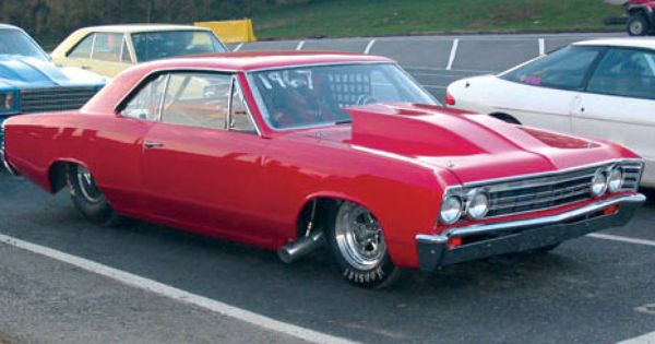 1967 Chevelle Full 4130 Tube Chassis Race Car 1967 Chevelle