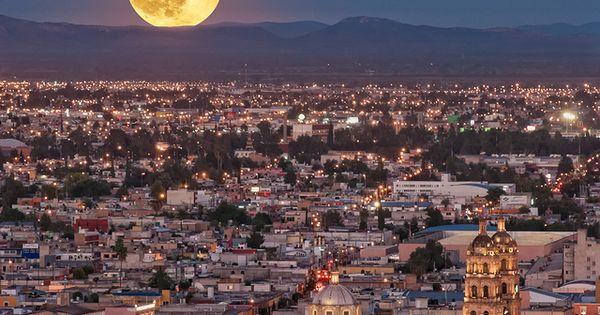 Así se ve la luna en Hermosillo, Sonora