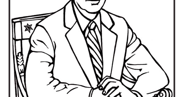 Free printable president jimmy carter coloring pages for Jimmy carter coloring page