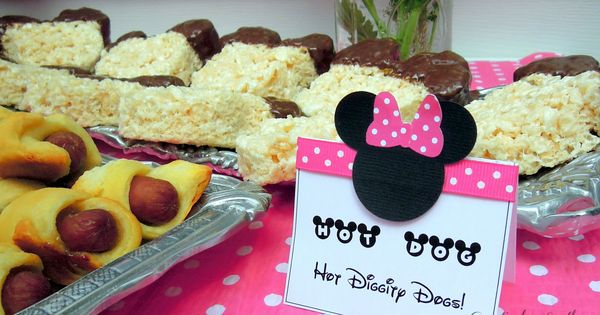 Minnie Mouse Birthday Party Idea