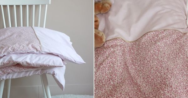 Atelier sc mmit housse de couette de fille couture for Chaise qui roule