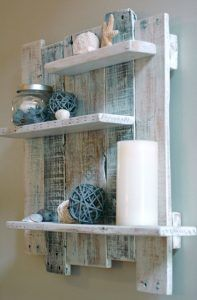 You Ll Want All Your Shelves To Be Made With Pallets With These Diy Pallet Shelves Ideas For More Cre Pallet Wood Shelves Pallet Wall Shelves Wood Pallet Wall