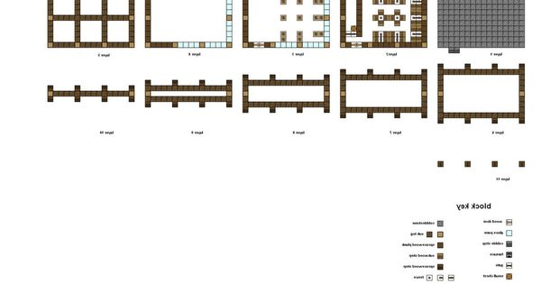 Minecraft House Blueprints Layer By Layer 06   Minecraft Blueprints   Pinterest   Minecraft houses blueprints  Layer by layer and House blueprints. Minecraft House Blueprints Layer By Layer 06   Minecraft