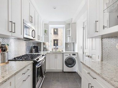 Yes You Can Fit Laundry Machines Into Your Tiny Apartment Small Laundry Rooms Small Laundry Small Laundry Room