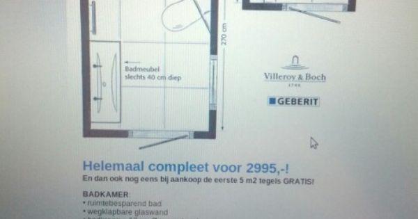 Kleine badkamer woning il05 pinterest - Klein badkamer model ...