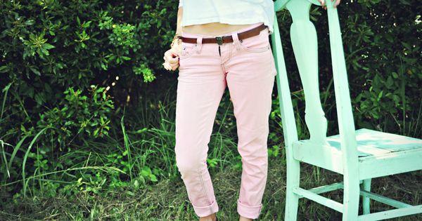Dye jeans