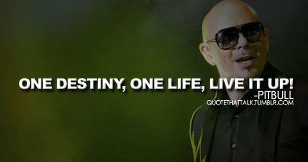 Pitbull Rapper Quotes Quotesgram Pitbull Rapper Rapper Quotes
