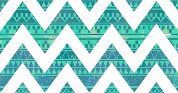 turquoise zigzag wallpapers pinterest - photo #9