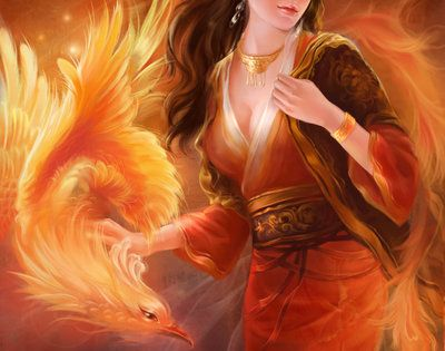 In Greek mythology, a phoenix or phenix is a long-lived bird that