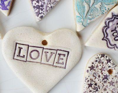 DIY salt dough tags tutorial. Crafts Ornaments SaltDough